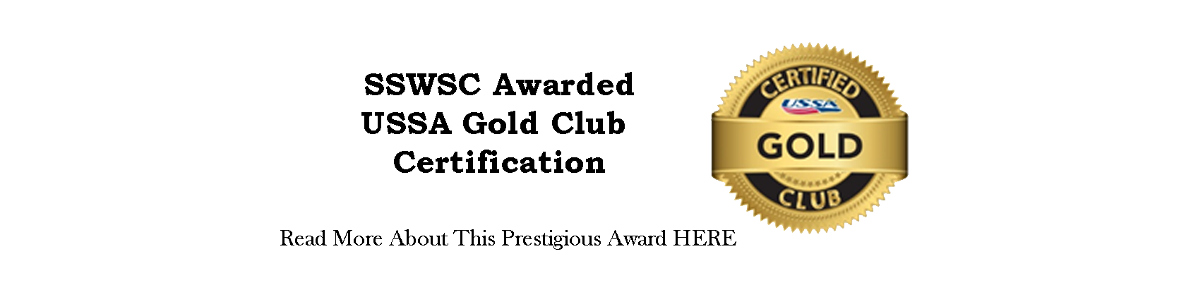 Gold Club Certification