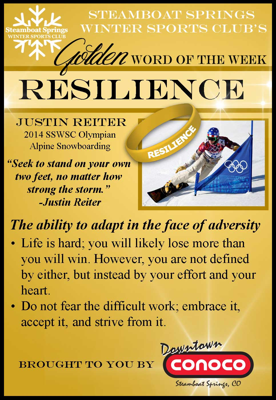 Word of the Week - Resilience