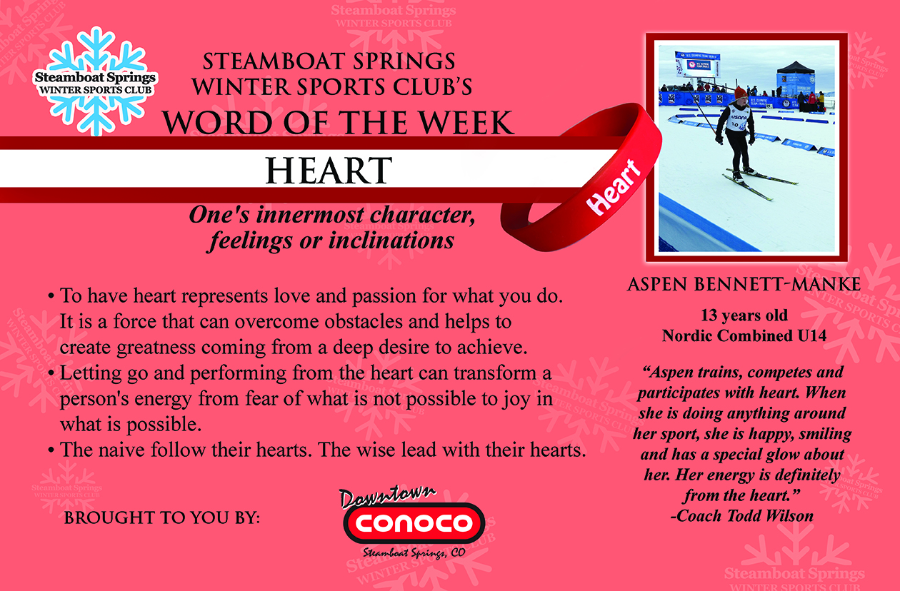 Word of the Week, Heart