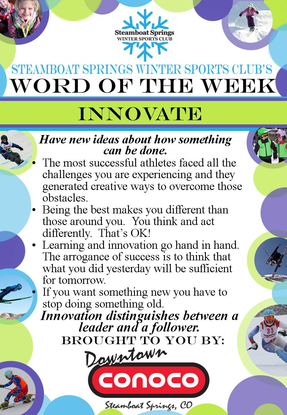 Word of the Week - Innovate