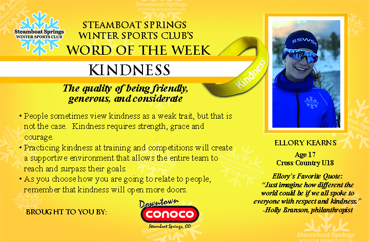 Word of the Week, Kindness