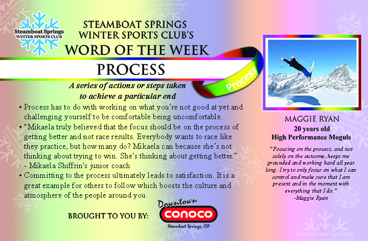 Word of the Week, Process