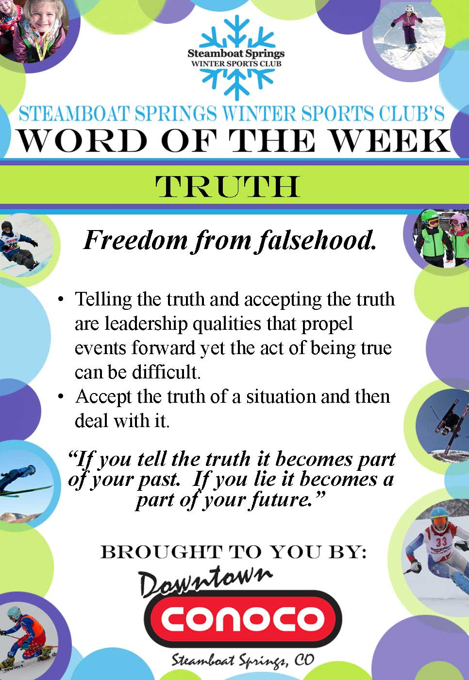 Word of the Week - Truth