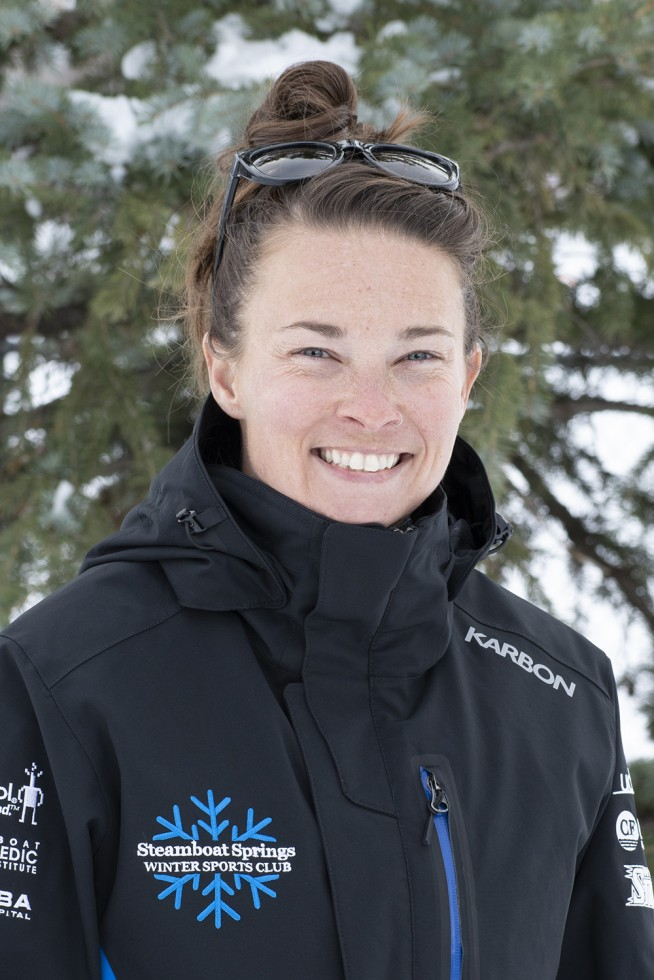 Amber McHugh, Head Women's FIS coach