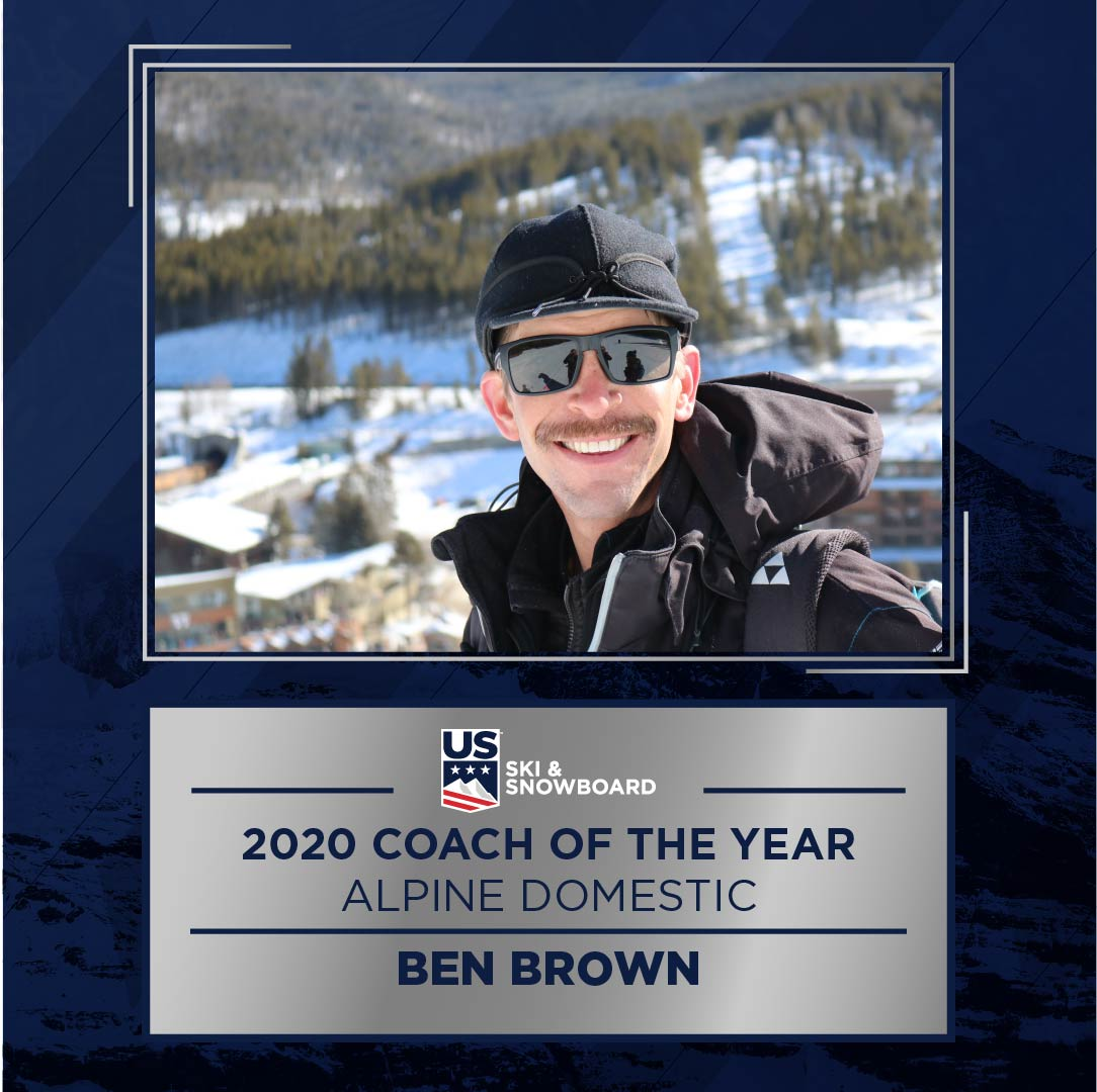 Domestic Coach of the Year: Ben Brown