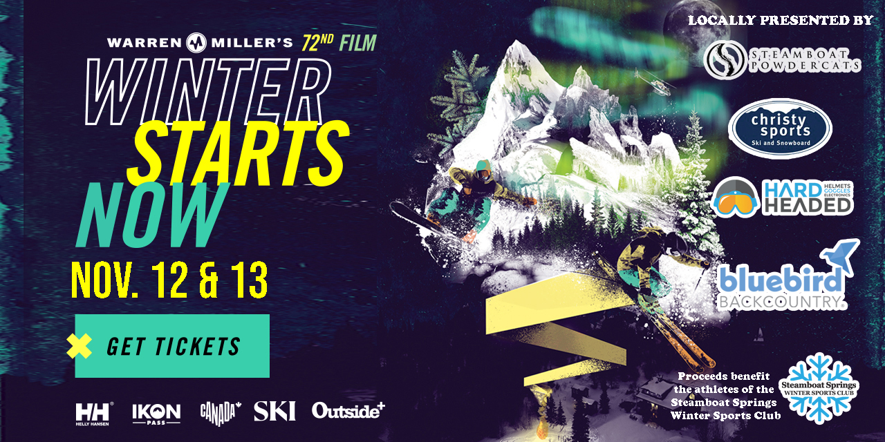 """Warren Miller's """"Winter Is Now!"""" November 12th and 13th"""